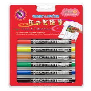 布彩繪筆(6支入)