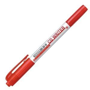 雄獅CD30雙頭光碟筆(紅色)
