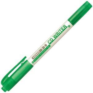 雄獅CD30雙頭光碟筆(綠色)