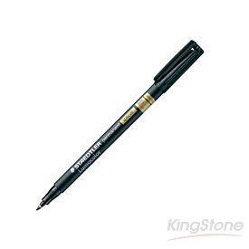 【施德樓】奈米工業專用油性筆0.6mm-黑色
