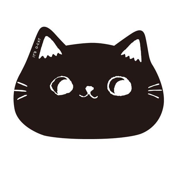 【九達】貓耳滑鼠墊-黑