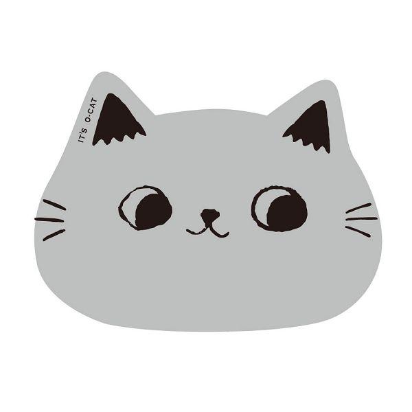 【九達】貓耳滑鼠墊-灰
