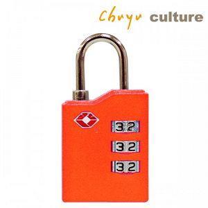 時尚--TSA海關密碼鎖-C橘