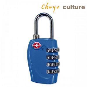 繽紛--TSA海關密碼鎖/四碼-D藍