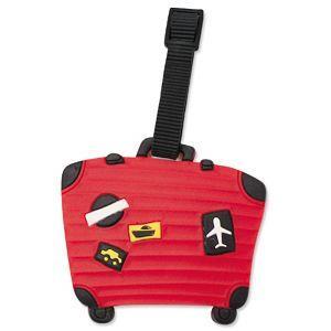 造型行李吊牌-行李箱-A紅(6版)
