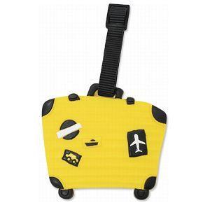 造型行李吊牌-行李箱-E黃