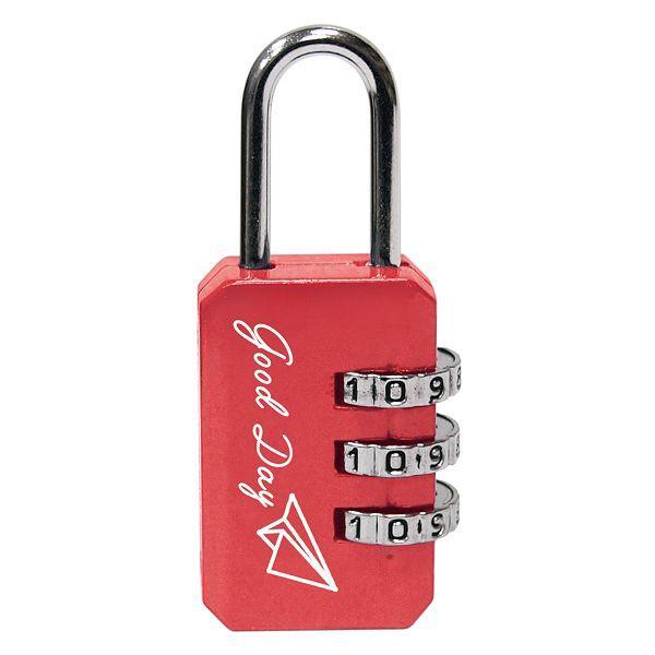 長方形密碼鎖-紅