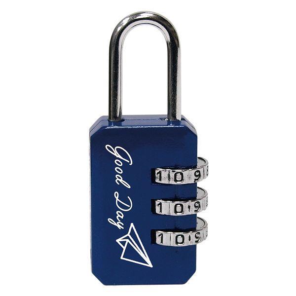 長方形密碼鎖-深藍