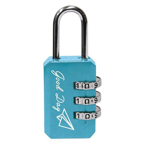 長方形密碼鎖-淺藍