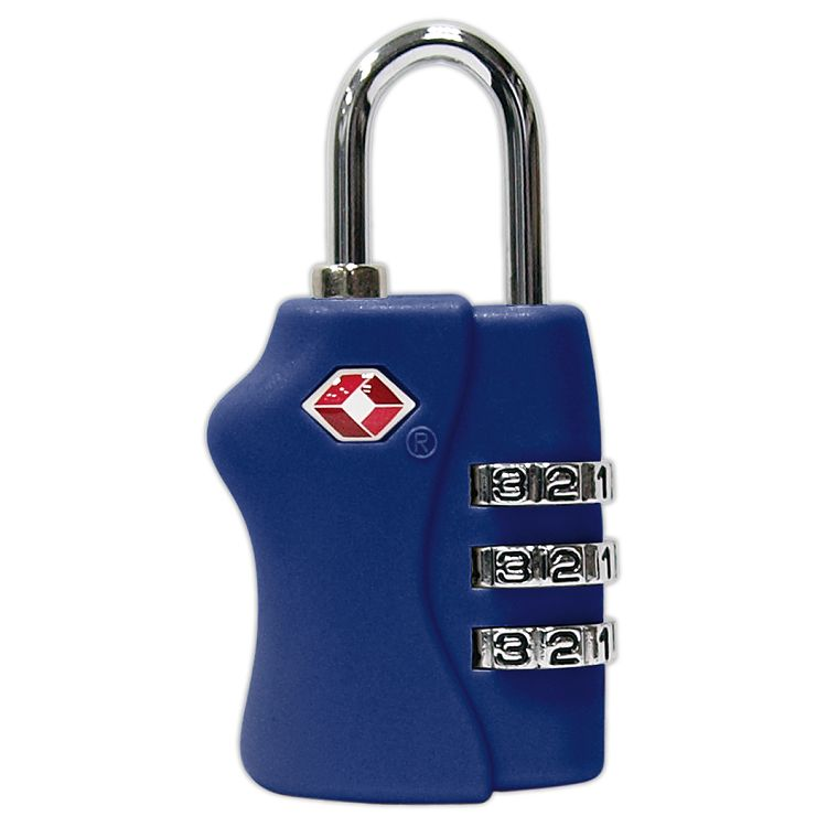 TSA海關密碼鎖-寶藍
