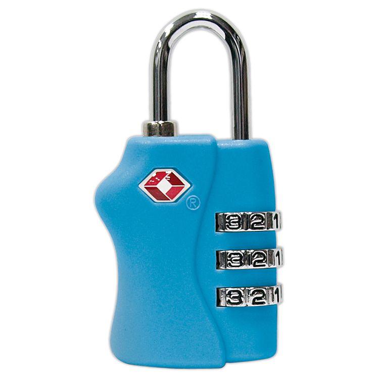 TSA海關密碼鎖-天藍