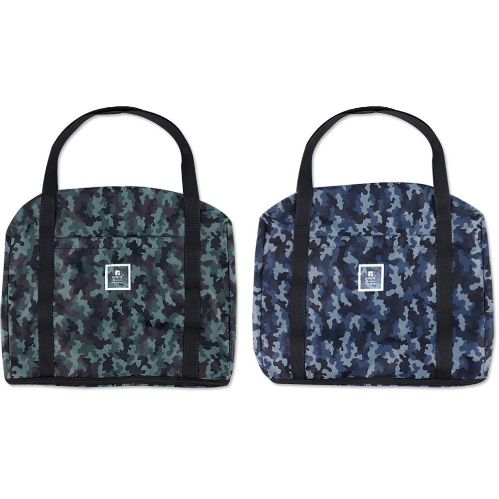 迷彩行李箱提袋(可加高)-02藍