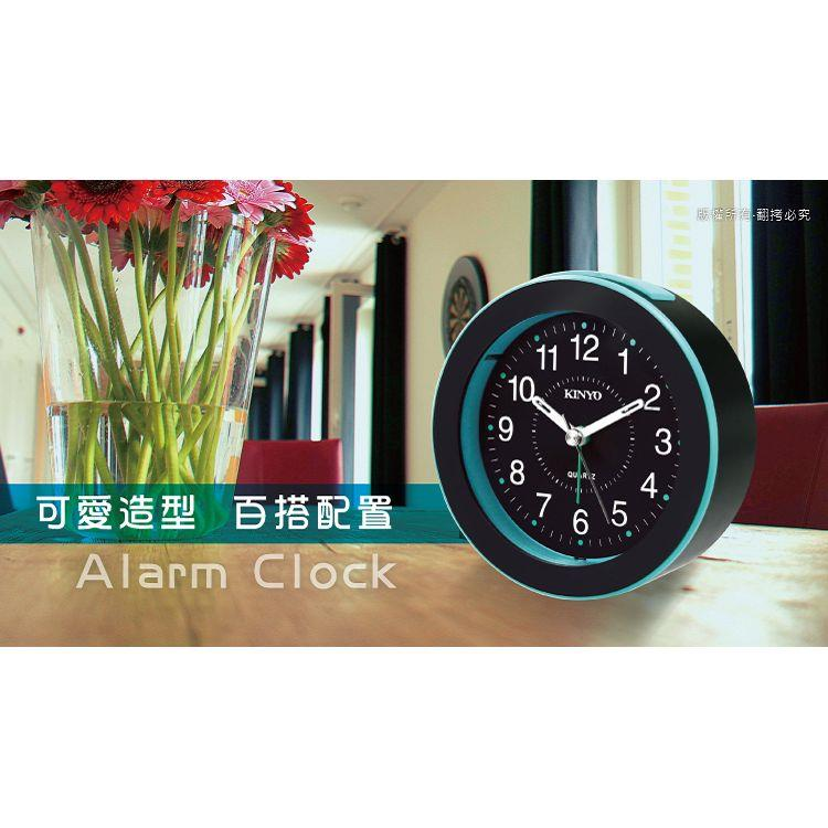【KINYO】TB-716 時尚圓形鬧鐘