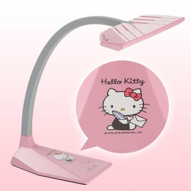 anbao安寶 Hello Kitty LED護眼檯燈 – 變色龍系列(粉紅)