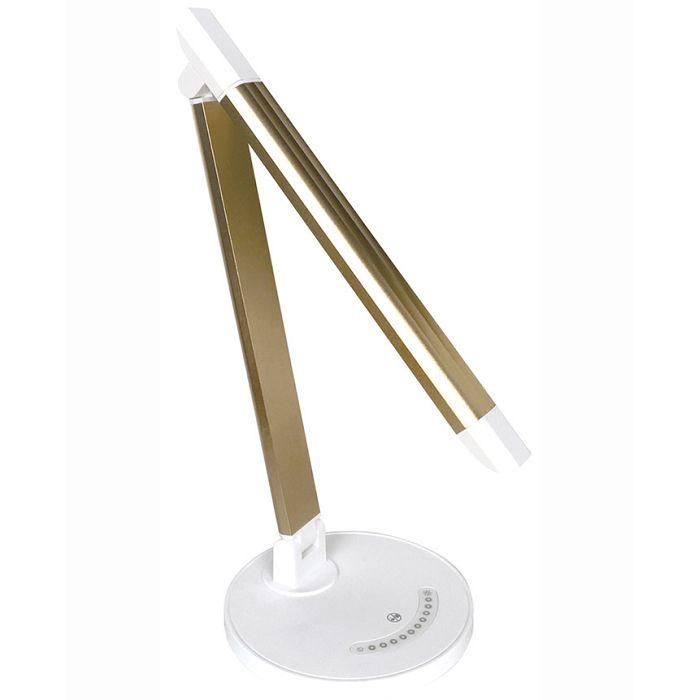 樂視達鋁合金LED檯燈(炫燦金)
