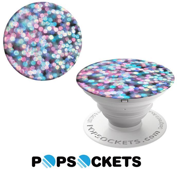 【PopSockets 泡泡騷】美國 No.1 時尚多功能手機支架 - 霓虹