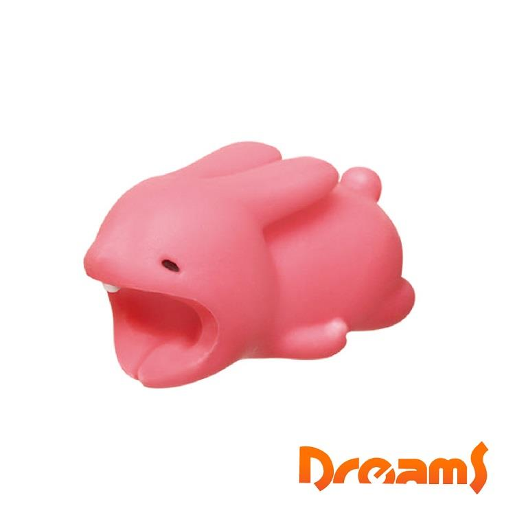 Dreams iphone專用咬線器 慵懶動物園 專業米蟲兔