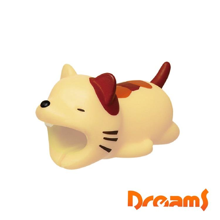 Dreams iphone專用咬線器 慵懶動物園 賴床的貓咪