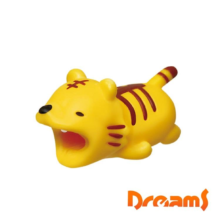 Dreams iphone專用咬線器 慵懶動物園 放空的老虎