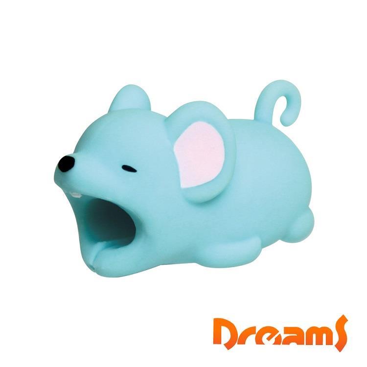 Dreams iphone專用咬線器 慵懶動物園II 不怕貓老鼠