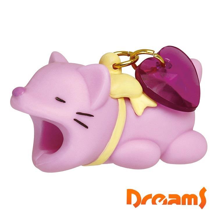 Dreams iphone專用咬線器 可愛動物園 貓