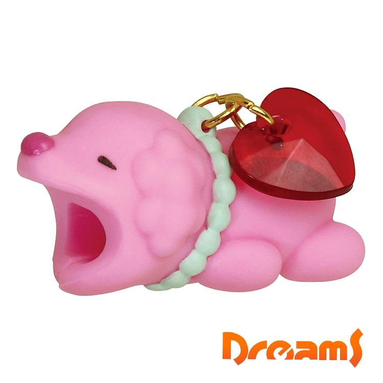 Dreams iphone專用咬線器 可愛動物園 狗