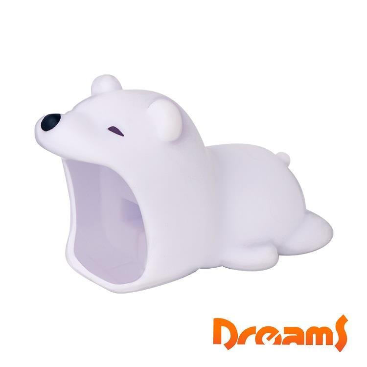 Dreams Apple專用大嘴巴插座套 北極熊