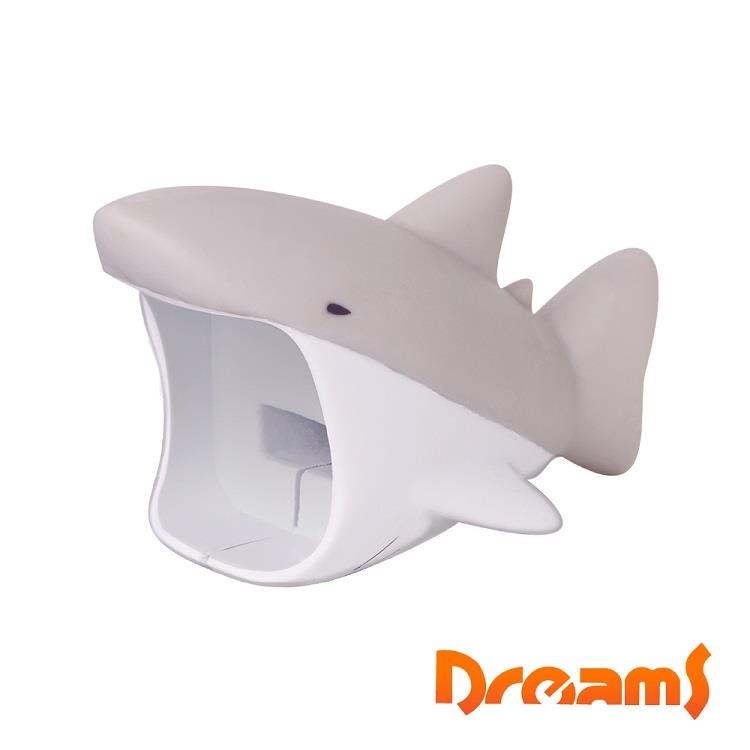 Dreams Apple專用大嘴巴插座套 灰鯊