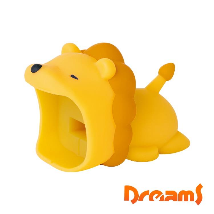Dreams Apple專用大嘴巴插座套 奶油獅