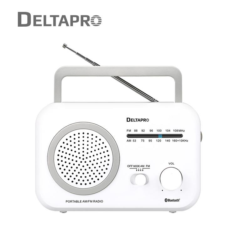 DELTAPRO復古藍芽音響 白_R-861BT