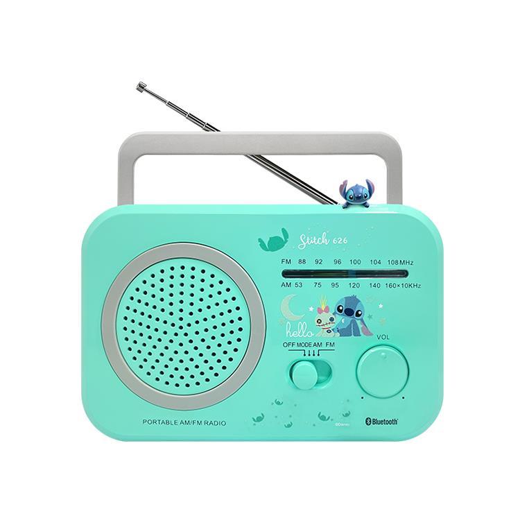 DELTAPRO Disney迪士尼復古藍芽音響-史迪奇