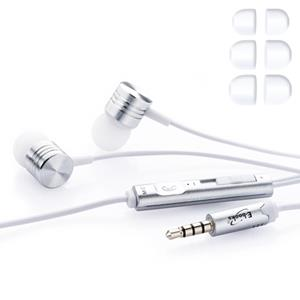 E-books S30 音控接聽入耳式耳機-白