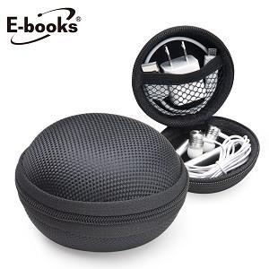E-booksU2牛津布硬殼收納包-黑
