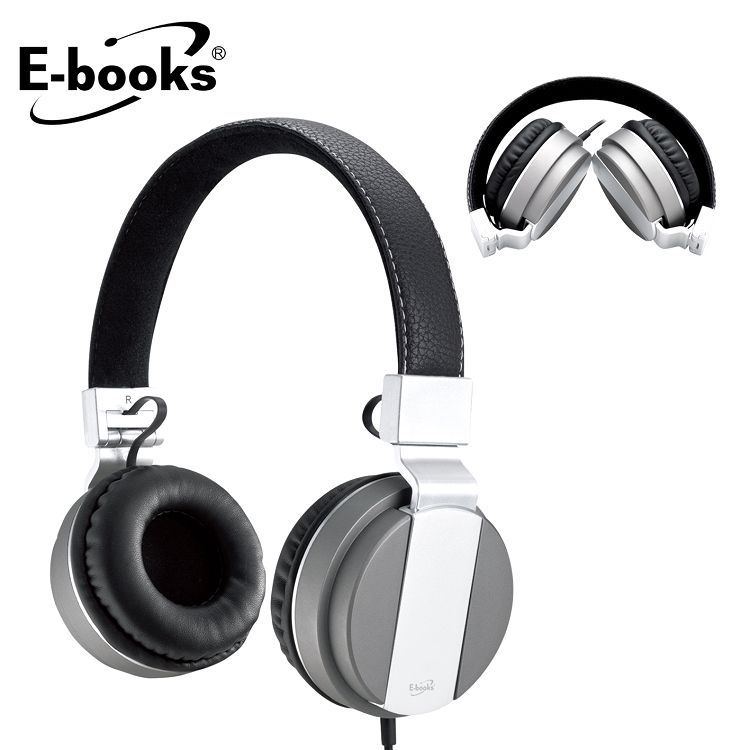 E-books S64 音控接聽頭戴式摺疊耳麥