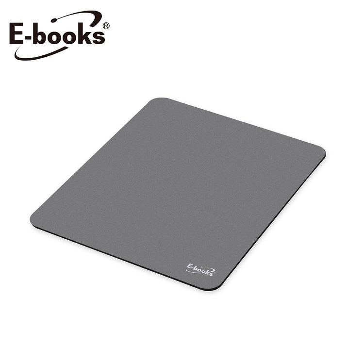 E-books MP2 無印風極簡滑鼠墊-灰