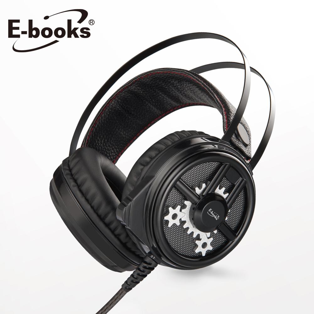 E-books SZ3 黑武士炫光電競耳麥