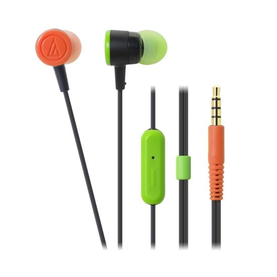 鐵三角 ATH-CKL220iS 智慧型手機專用耳塞式耳機 狂野黑