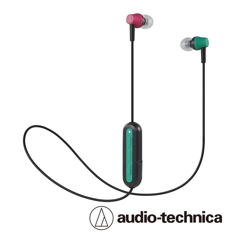 鐵三角 ATH-CK150BT藍芽無線耳機麥克風組-狂熱