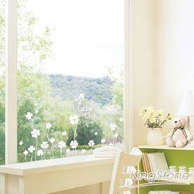 【現代壁貼】四葉幸運草〈WHITE-白色〉