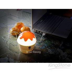 冰淇淋USB小夜燈存錢筒(粉翅膀)