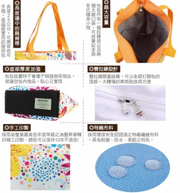 【COPLAY設計包】變身-白 托特包