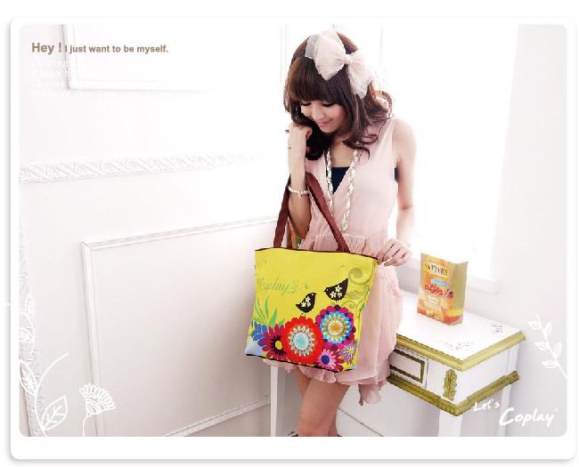 【COPLAY設計包】浪漫愛情鳥 托特包