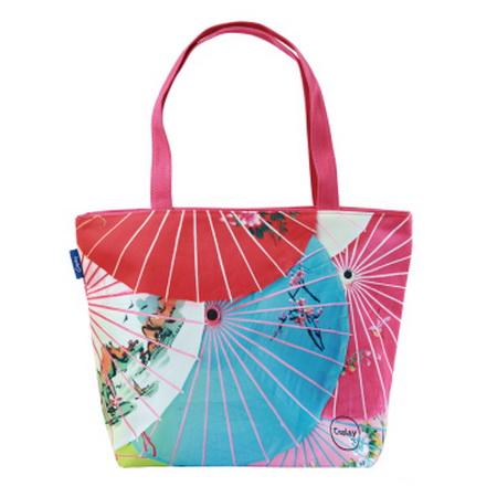 【COPLAY設計包】日式紙傘 托特包