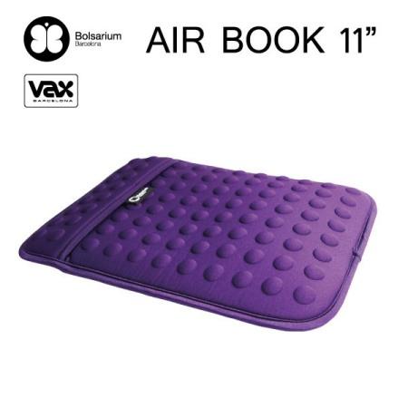豆豆包長天鵝絨防震包MacBook Air 11吋專用-紫色