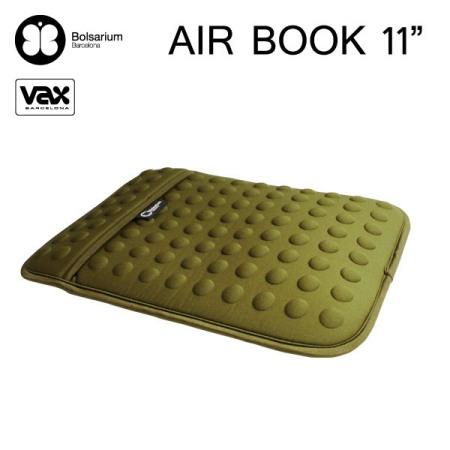 豆豆包長天鵝絨防震包MacBook Air 11吋專用-綠色