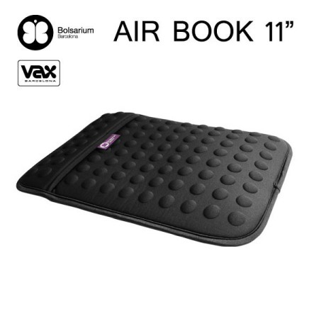 豆豆包長天鵝絨防震包MacBook Air 11吋專用-黑色