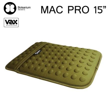 豆豆包長天鵝絨防震包MacBook Pro 15吋專用-綠色