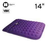 VAX BOLSARIUM 豆豆包長天鵝絨防震包14吋-紫色