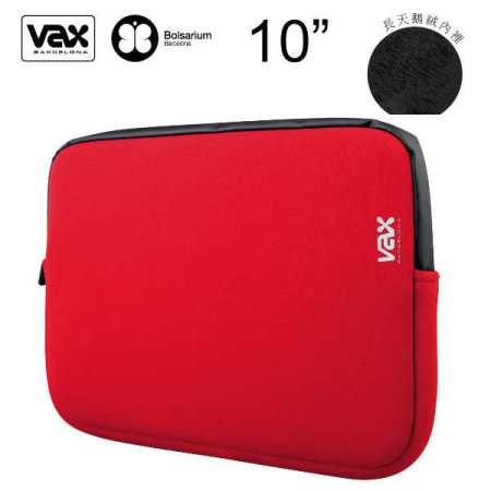 VAX 佩德拉斯筆記型電腦/平板電腦防震包7-10吋-紅色