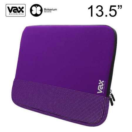 VAX 梵達納筆記型電腦防震包13.5吋-紫色銀點